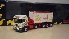"""Herpa - Scania R HL 20ft Open-Top-Container Sattelzug """"Menath Transporte"""" - 1:87"""