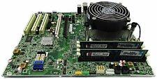 HP 611835-001 Compaq 8200 Elite Tower LGA1155 Motherboard, Heatsink, 4GB RAM