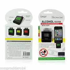 Alcohol Tester Nero per iPhone 4 / 4S