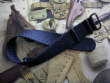 22mm Black Woven Braided Tropic NATO G10 Ballistic PVD watchband strap IW SUISSE