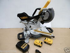 BRAND NEW DEWALT DCS365P2 DCS365 18V XR 184MM PULL OVER MITRE SAW 5 AH