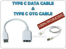 *USB TYPE C DATA CABLE + TYPE C OTG CABLE FOR GIONEE S6 *