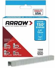 Arrow Fastener T50 10mm (3/8inch) Heavy Duty Staples Box of 1250