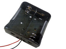 1pcs D Size 3V DC 2 Cell Battery Power Supply Holder Holds Case Box with Wire