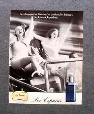 [GCG] I062- Advertising Pubblicità - LES COPAINS  PARFUM POUR FEMME , POUR HOMME