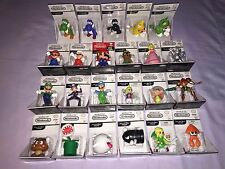 World of Nintendo HUGE LOT OF 23 Collectible Mini Figures ULTRA RARE MARIO ++