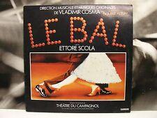 VLADIMIR COSMA - LE BAL - BALLANDO BALLANDO - SOUNDTRACK 2 LP VG+/VG+/EX 1984