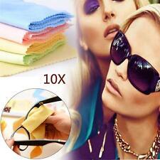 10x Cristales Gafas De Sol Microfibra Limpiador Paño Prendas Aleatorias Color GC