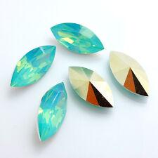 Wholesale 20PCS Horse eye Resin rhinestones  beads 9x18mm diy hot