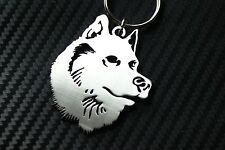 HUSKY Siberian Eskimo Sled Dog Breed Pedigree Kennel Club Keyring Keychain Key