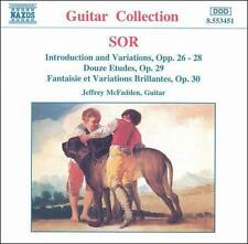 Sor: Complete Guitar Music, Vol. 7 1997 by Fernando Sor; Jeffrey McFadden