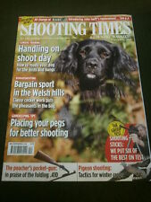 SHOOTING TIMES - SHOOTING STICKS - OCT 31 2012