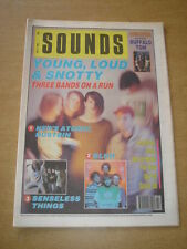 SOUNDS 1990 JULY 7 NEDS ATOMIC DUSTBIN SENSELESS THINGS BLUR LEMONHEADS IGGY POP