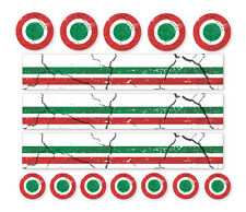 ITALIA MOD DISTRESSED AIR DECALS Road Mountain Bike Bicycle Cycle Stickers
