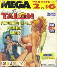 """LAS DEL TALON"" mexican comic SEXY GIRLS, SPICY HISTORIES #44"