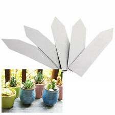 1 Pack of 100 pcs Plant Pot Markers Plastic Garden Stake Tags Nursery Labels 4""
