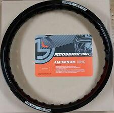 """Moose Vorderrad Felgenring 21"""" 1,60 Zoll Honda CR CRF CR-F 125 250 450 Schwarz"""