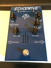 SIB Electronics Echodrive Delay Blue 230V version EU BBD tube analog pedal