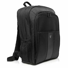 V7 17.3-Inch Water Resistant Professional 2 Laptop and Tablet Backpack, Black C