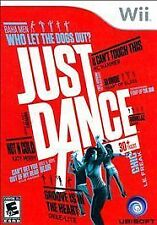 Just Dance (Nintendo Wii, 2009) EUC Video Game Exercise Christmas Gift