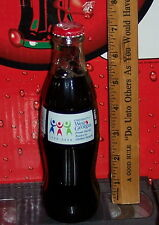 2006 UNIVERSITY OF WEST GEORGIA 10TH ANNIVERSAY  8 OZ GLASS COCA COLA  BOTTLE