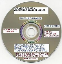 Kubota GR2100 EC, GR2100EC Tractor Workshop Service Shop Repair manual on CD