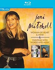 JONI MITCHELL-WOMAN OF HEART &MIND/PAINTING WITH WORDS AND MUSIC  BLU-RAY NEU