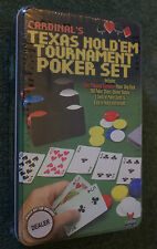 Cardinal's Texas Hold 'Em Tournament Poker Set 200 Chips