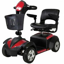 Drive Ventura 4 Wheel Scooter with Fold Down Seat, Standard Mobility Cart Power