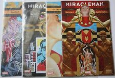Miracleman 1-4 Marvel Comics VF-NM 1st Printings Neil Gaiman Mark Buckingham 2 3
