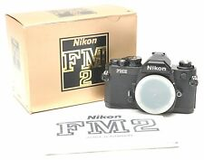 Nikon FM2 35mm Film Camera w/Box & Manual