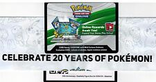 Lot X 8 (20th Anniversary Box Blastoise EX XY122 Online Code Generation Pack
