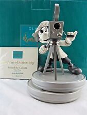 """WDCC """"Behind The Camera"""" Mickey Mouse Club LE Mint in Box with COA RARE SIGNED"""
