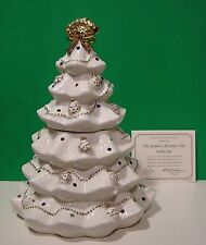 LENOX THE JEWELED CHRISTMAS TREE COOKIE JAR New in Box with COA