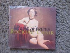 "HOUSE OF FREAKS ""ROCKING CHAIR"" 1991 EMBOSSED DIGIPAK-STILL SEALED OUT OF PRINT!"