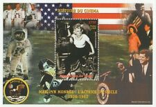 MARILYN MONROE HISTORY OF CINEMA JFK APOLLO 11 NIGER 1999 MNH STAMP SHEETLET