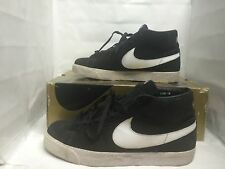 Nike SB Blazer Black/White Size 10 Used Supreme