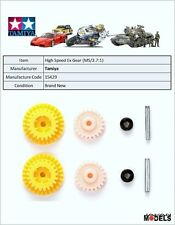 Mini 4wd PRO HIGH SPEED EX GEAR SET ( MS CHASSIS/GEAR RATIO 3.7:1) Tamiya 15429