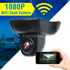 Full HD 1080P WiFi Car DVR Dash Camera Video Recorder Novatek 96655 Battery Free