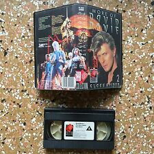 Film VHS (1988) - DAVID BOWIE Glass Spider Tour 2 , Video Collection