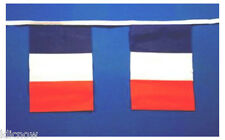 France Flag Bunting 9metres 30ft Long with 30 cloth fabric Flags