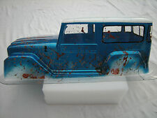 1970 Toyota Landcruiser 4X4 10 Scale Lexan Body Mud Paint Job and Decal Sheet