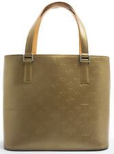 Louis Vuitton monogram Matt Stockton Gold Schultertasche Tasche Shoulder Bag Rar