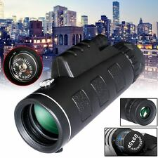 40x60 Outdoor Handheld HD Monocular Camping Telescope Set W/Compass Tripod New
