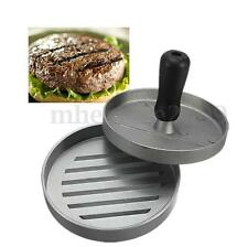 Burger Presse à Hamburger Moule Pressoir Steak Porc Ustensile de Cuisson 12cm