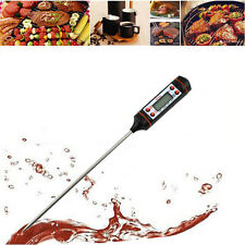 New Digital Cooking Food Probe Meat Kitchen BBQ Selectable Thermometer A