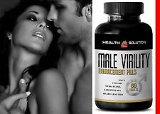 Zinc Capsules - Male Virility 1300mg - Men Stamina Ultimate Pills 1B