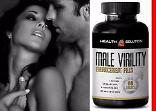 Testosterone Supplement - Male Virility 1300mg - Ageless Male Enhancement 1B