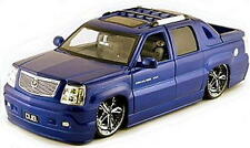 Cadillac Escalade EXT DUB CITY Diecast 1:18 Scale Blue