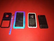 5 iPhone Cases=5s Wallet Clutch+(3) 5s Back Side Cases+1 4s Black Silicone Case